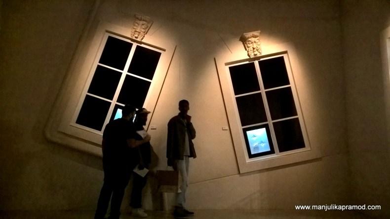Windows cut in haphazard angles