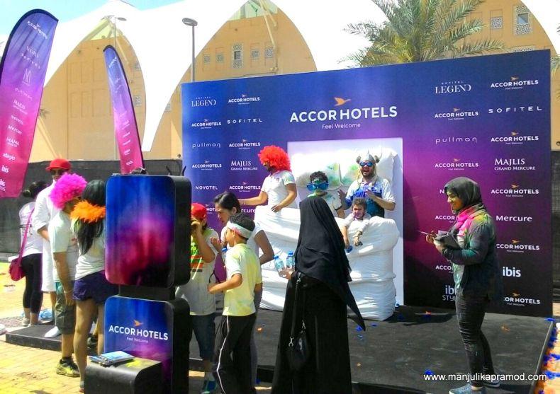 Colour Run-Accor Hotels