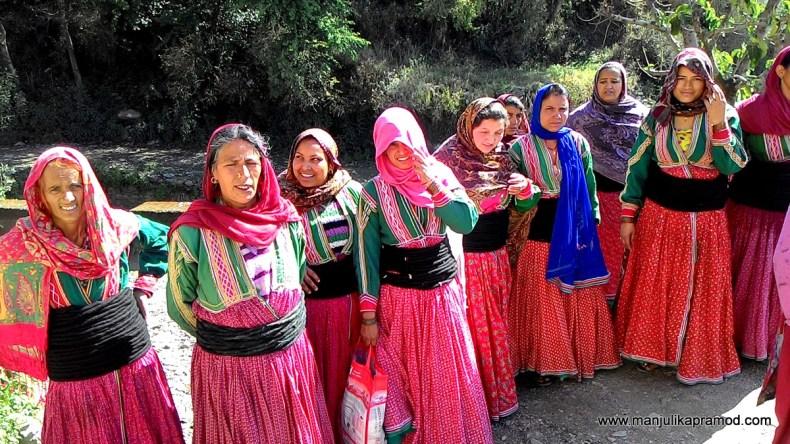 Gaddi community, Gunehar, Bir Billing, Himachal Pradesh