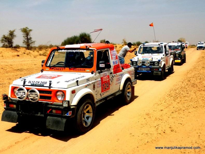 Desert Storm Rally, Maruti Suzuki