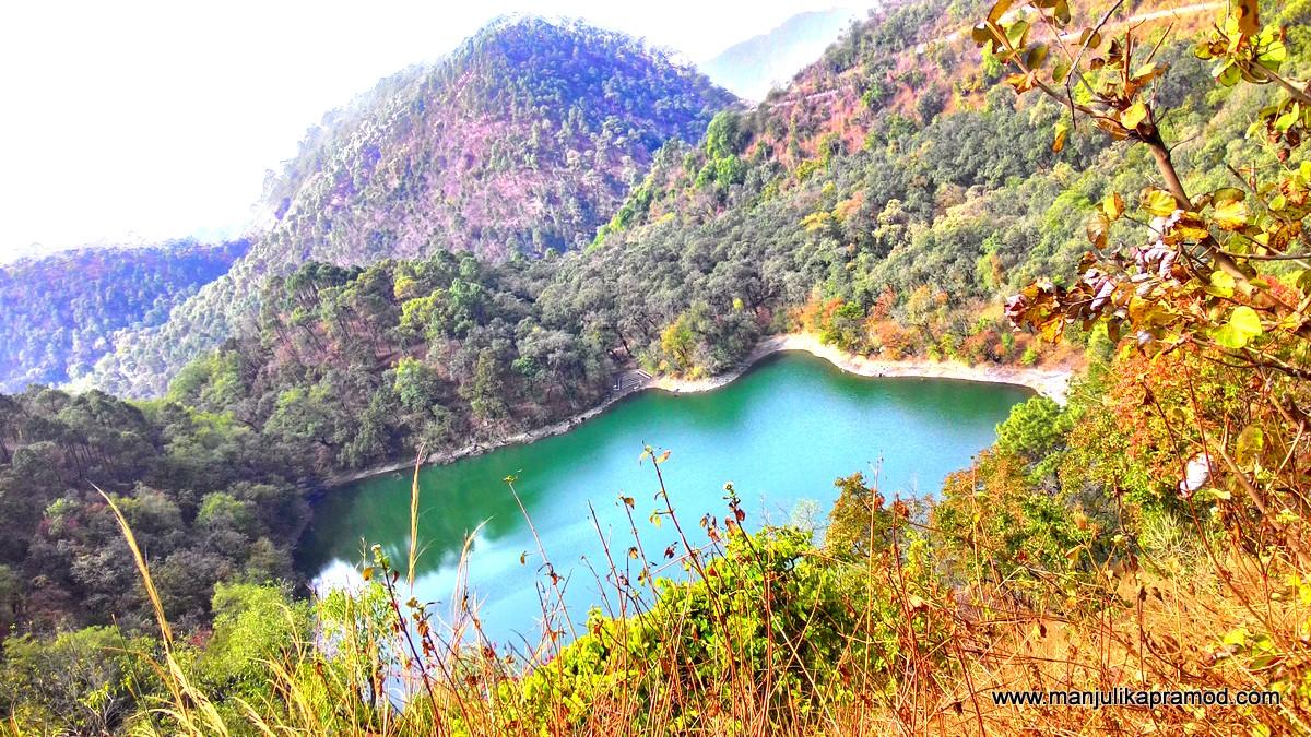 Garud lake, Sattal, Bhimtal, Travel