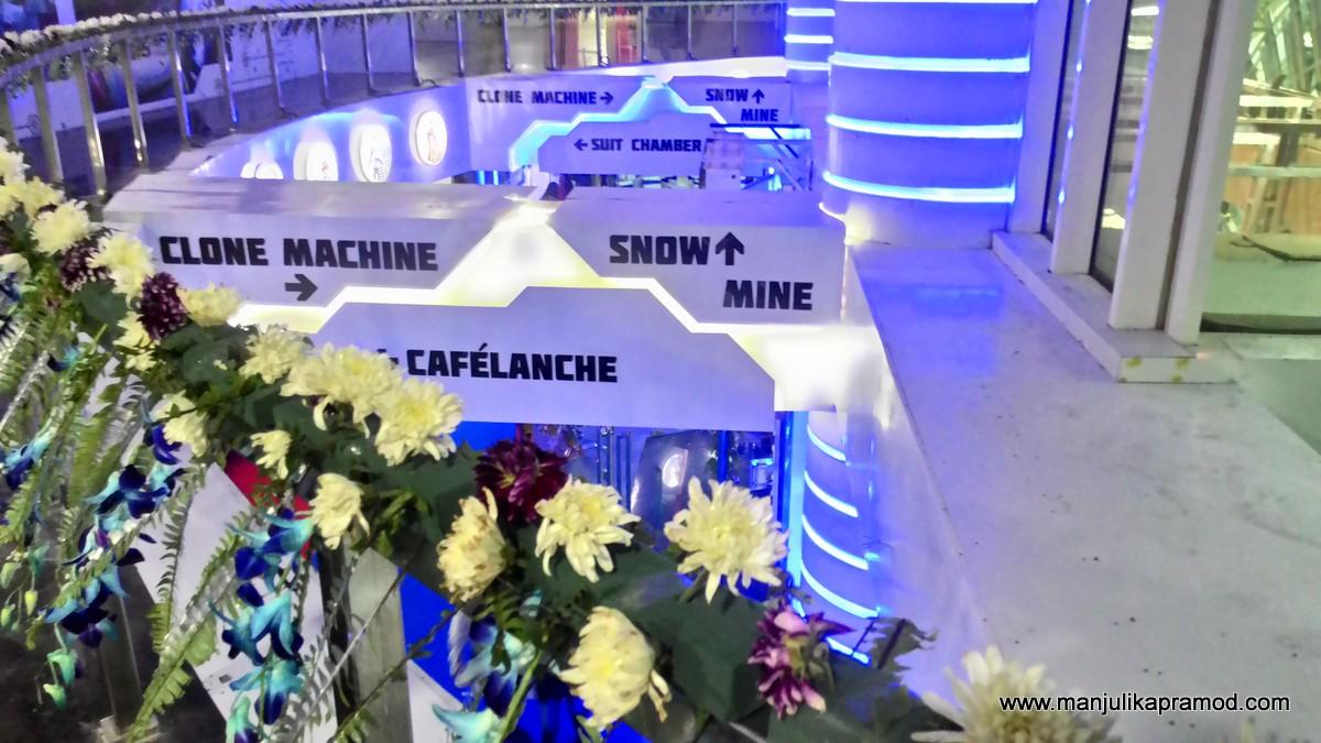 Ski India, Noida, Mall of India, Snow park, Skiiing