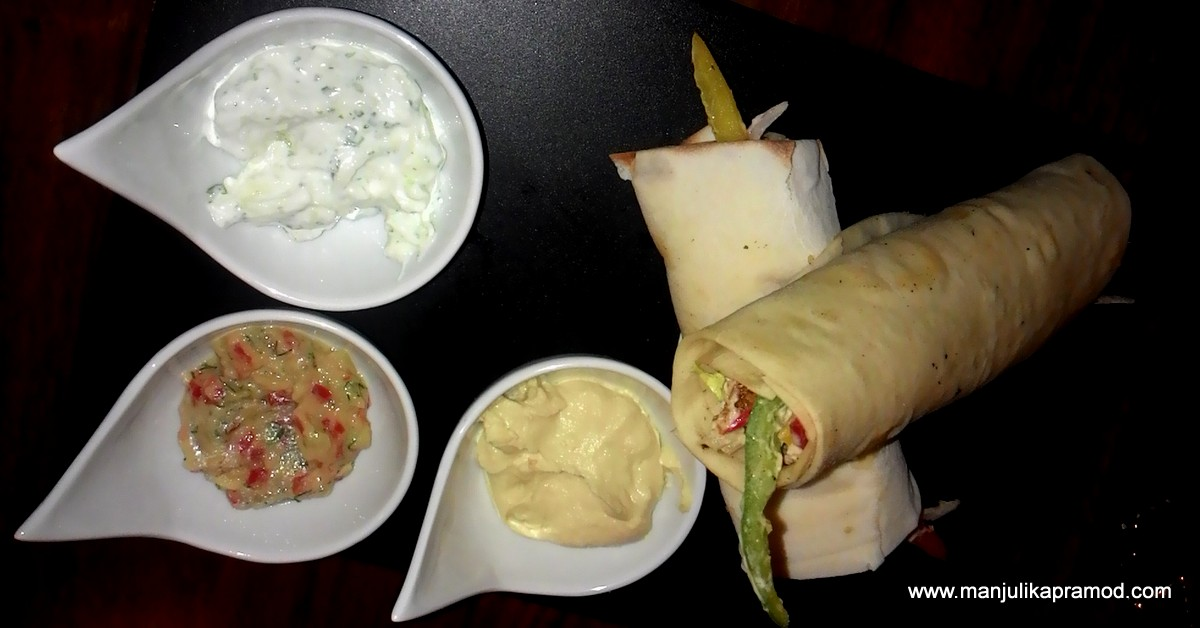 Shawarma Veg, Wolfgang and Company, Delhi, preview