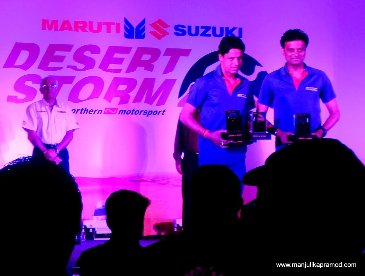 Suresh Rana and his navigator Ashwin Naik won the Xtreme category