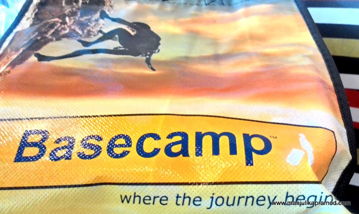 Basecamp, journey,shop for travel accessories, Delhi, travel blogger