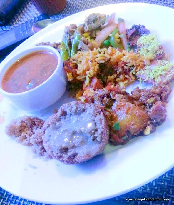 My platter- A little bit of everything - Rajasthani platter-VITS Luxury Hotel, Mumbai
