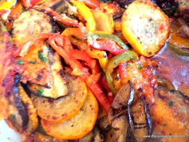 Vegetable Moussakka, Hyatt Place, Gurgaon