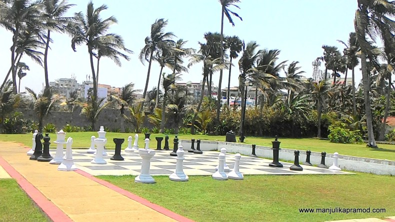 Chess board at THE PARK Vizag