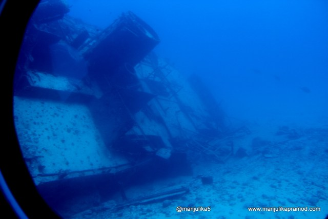 Star Hope Ship wreck, Mauritius, Underwater, Indian Ocean, Travel Africa