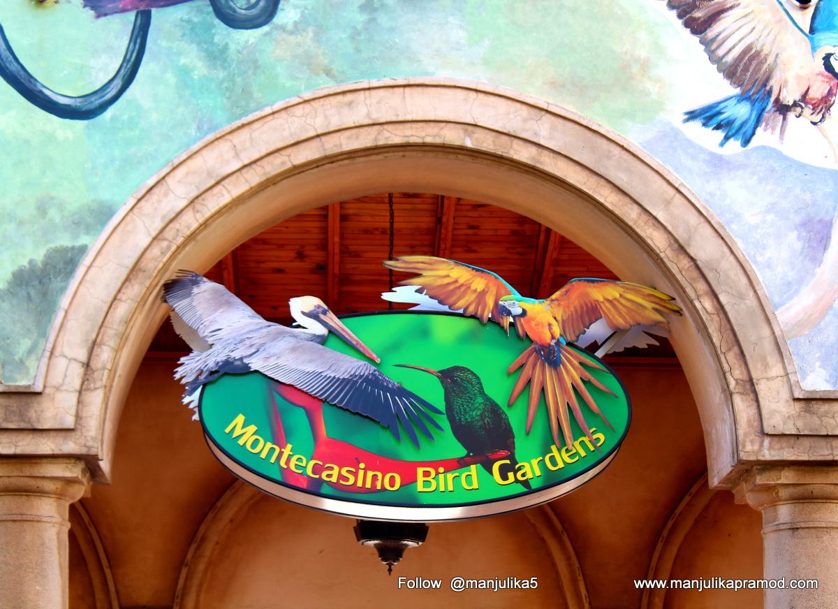The Monte Casino Bird Garden, Johannesburg