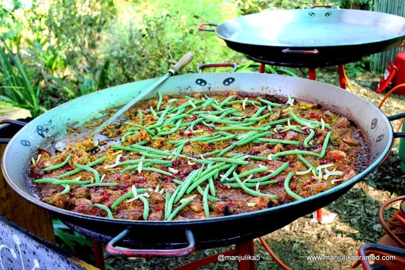 Chicken paella , Joburg