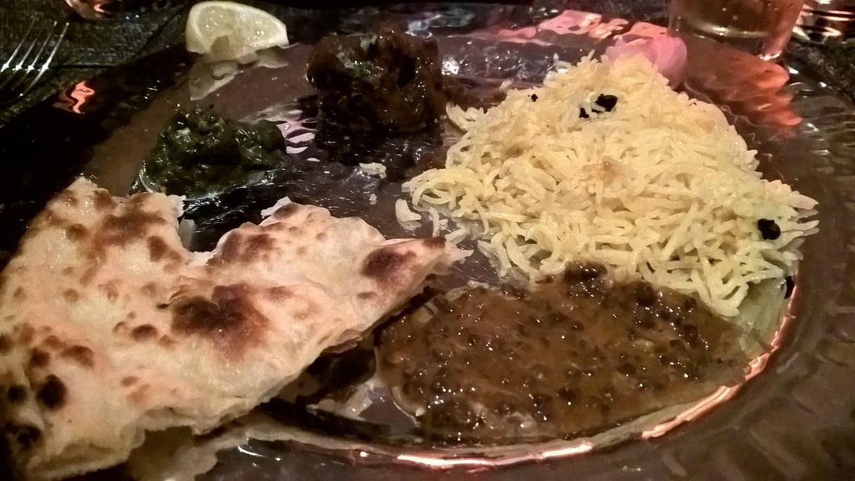 Dinner,Indian restaurant, mauritius