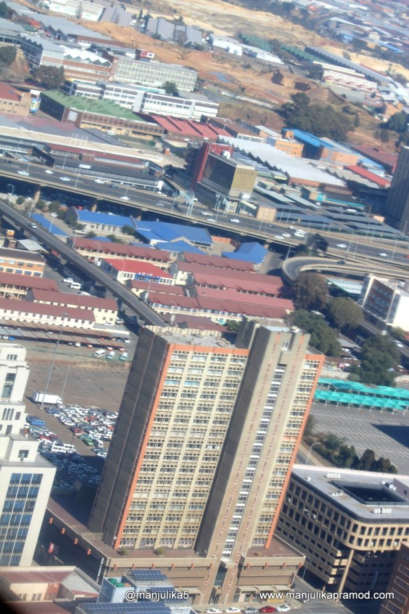 Johannesburg is a dense city
