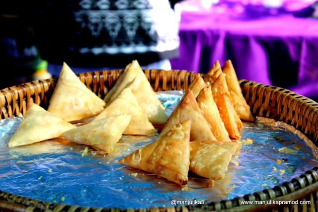 Vegetable Samosa, Farmers Market, Joburg