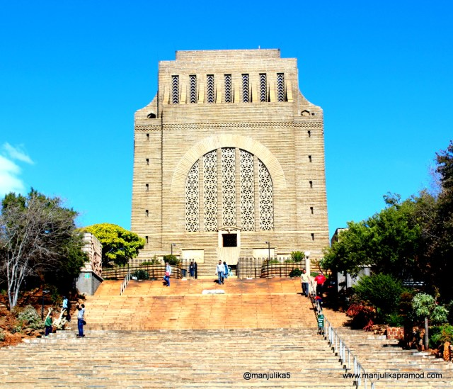 Afrikaan history, Voortrekker, Pretoria, South Africa, Travel blog