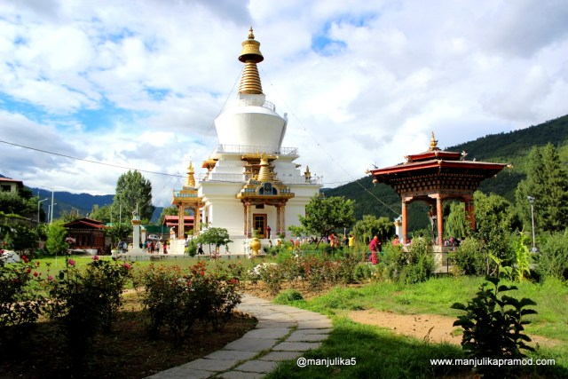 Thimphu, Bhutan, Large Stupa, Chorten