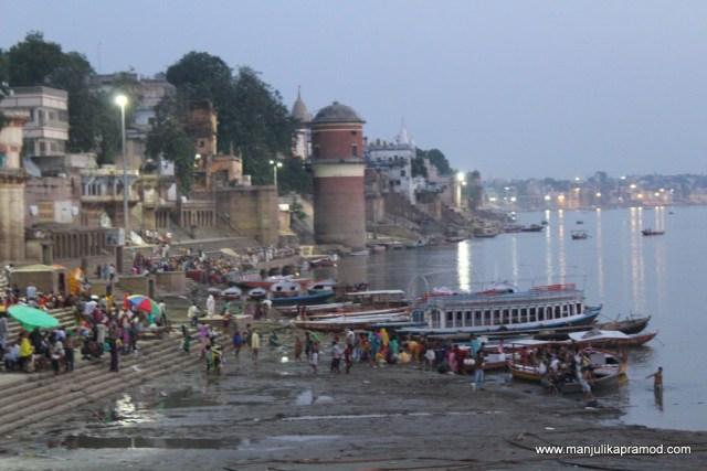 Sunrise at Varanasi