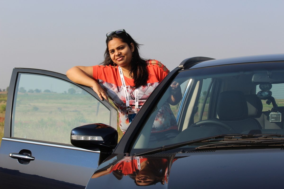 When I Drove The New Tata 'Hexa' in Hyderabad