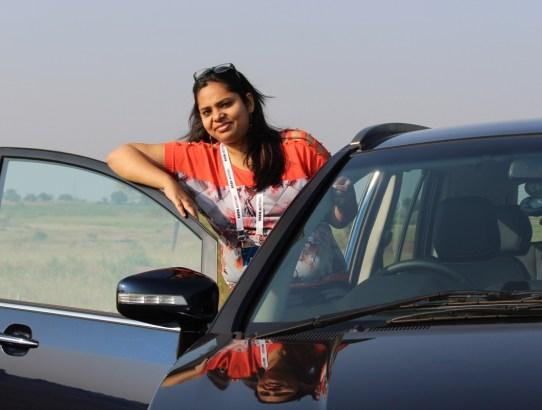 When I Drove The New Tata 'Hexa' in Hyderabad