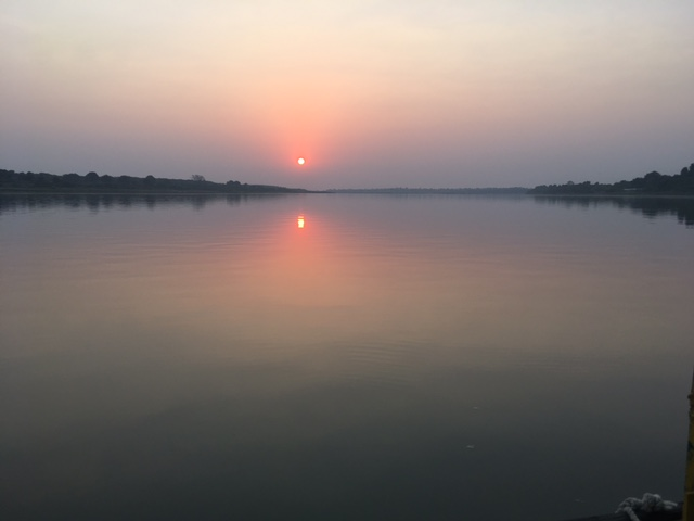 Sunset, Narmada