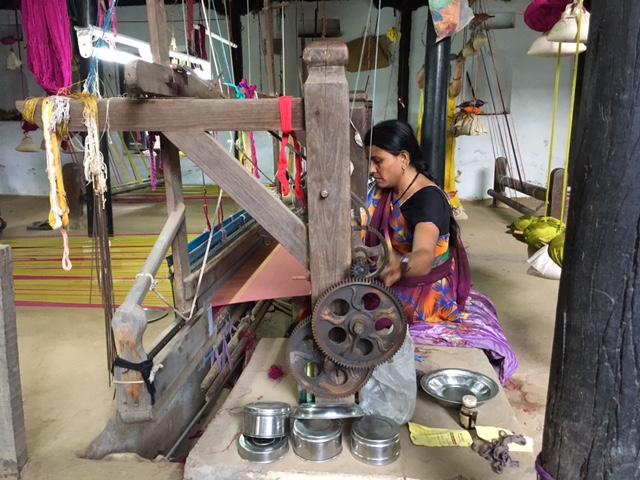 Maheshwar, Weavers