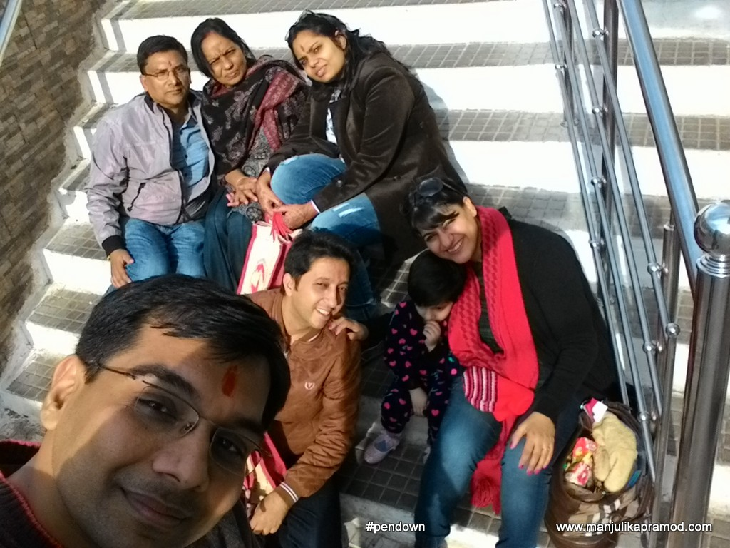 Travel with family,