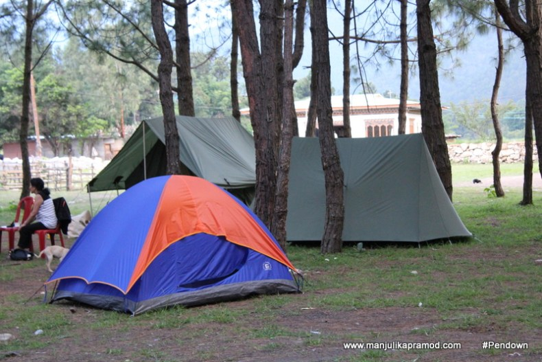 Go camping in Punakha