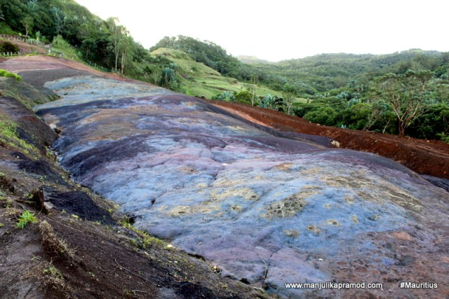 23 layers of soil, volcanic eruptions of Mauritius
