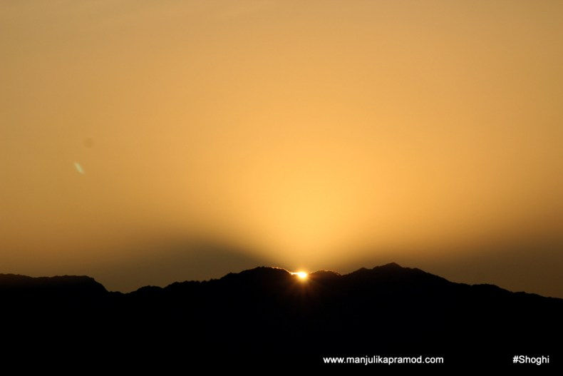 Picture of Sunrise in Shimla