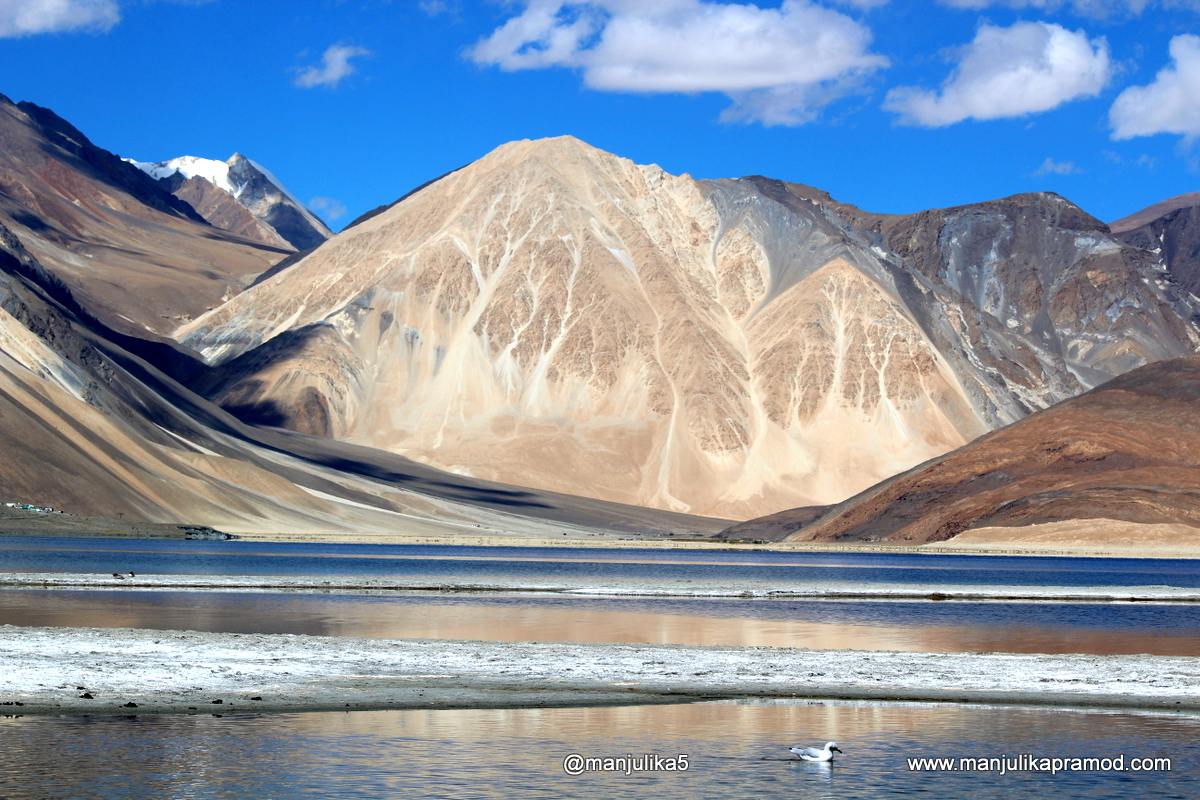 Picture of Pangong Tso lake in September