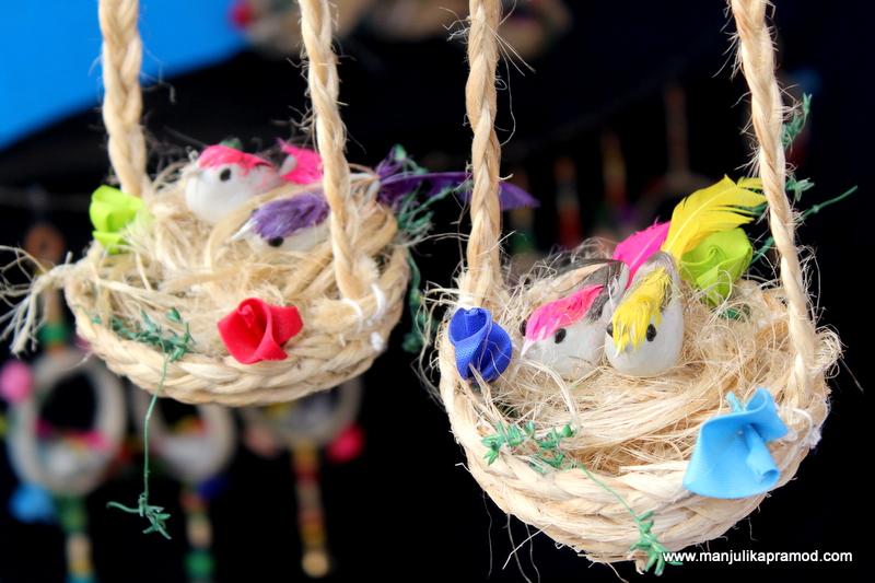 Hand made little swings from Bihar