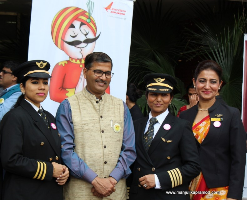 Celebrating Womanhood with AirIndia