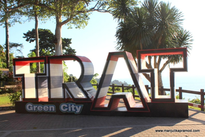 The Green city, Eastern Thailand