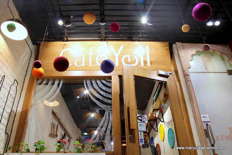 Cafe Yell, Yell club wear, Restaurant in Defence colony