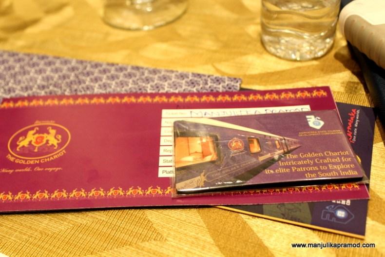 Ticket of Golden Chariot