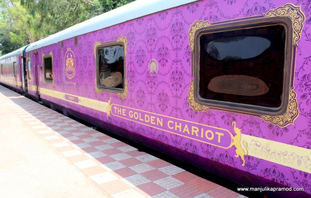 Golden chariot, A luxury train journey in India