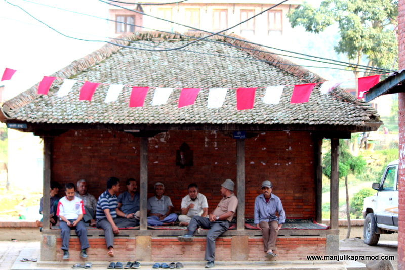 Paati - The common resting place for the people of the neighborhood.
