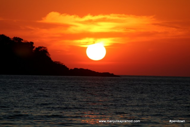 Sunset in Koh Chang - A beautiful gem in Thailand