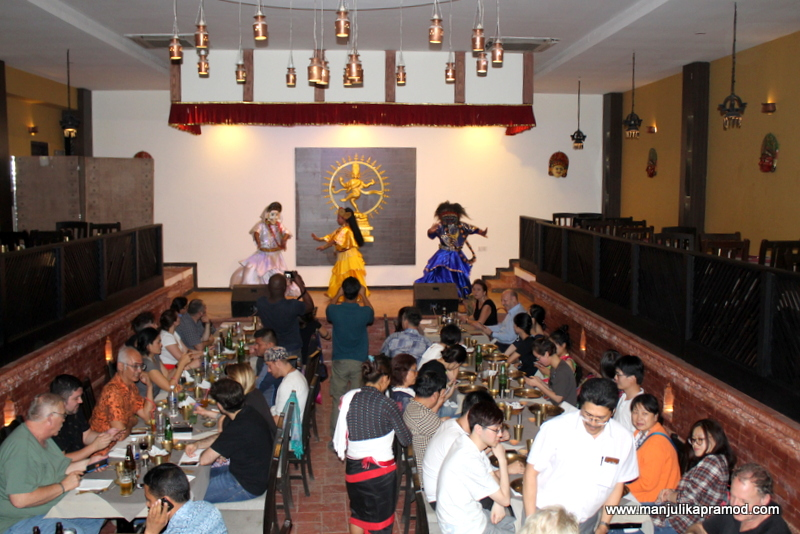 The first group dinner hosted by PATA NEPAL CHAPTER -Himalayan Travel Mart