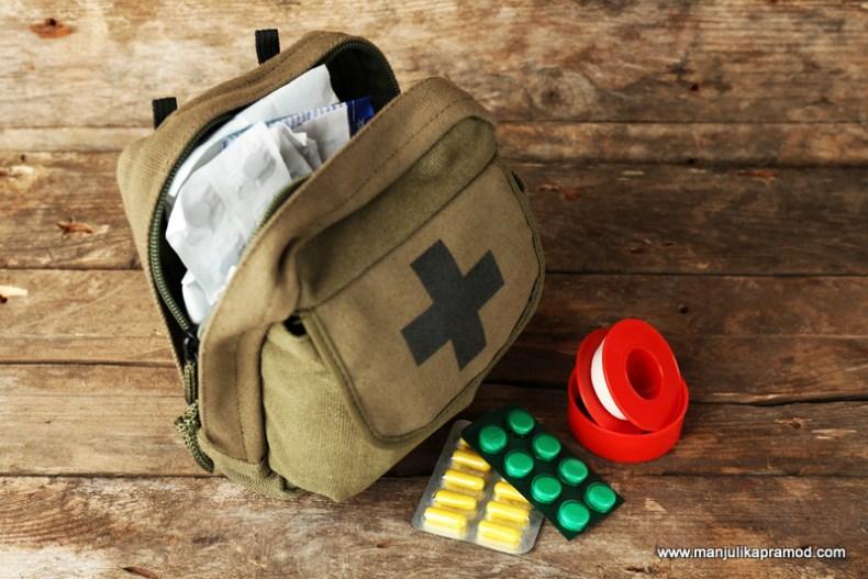 First Aid kit for travel, Travel, Medical kit
