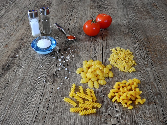 Shapes of Pasta