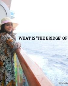 Princess Cruises, Bridge of a ship