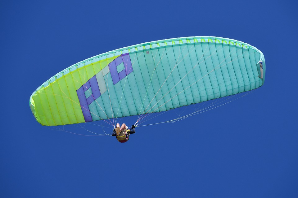 Paraglide, Adventure