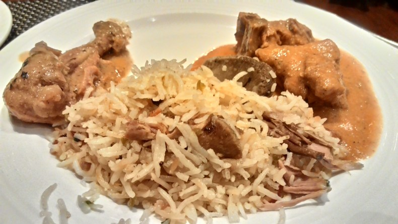 Hyderabadi Biryani is worth a wash down