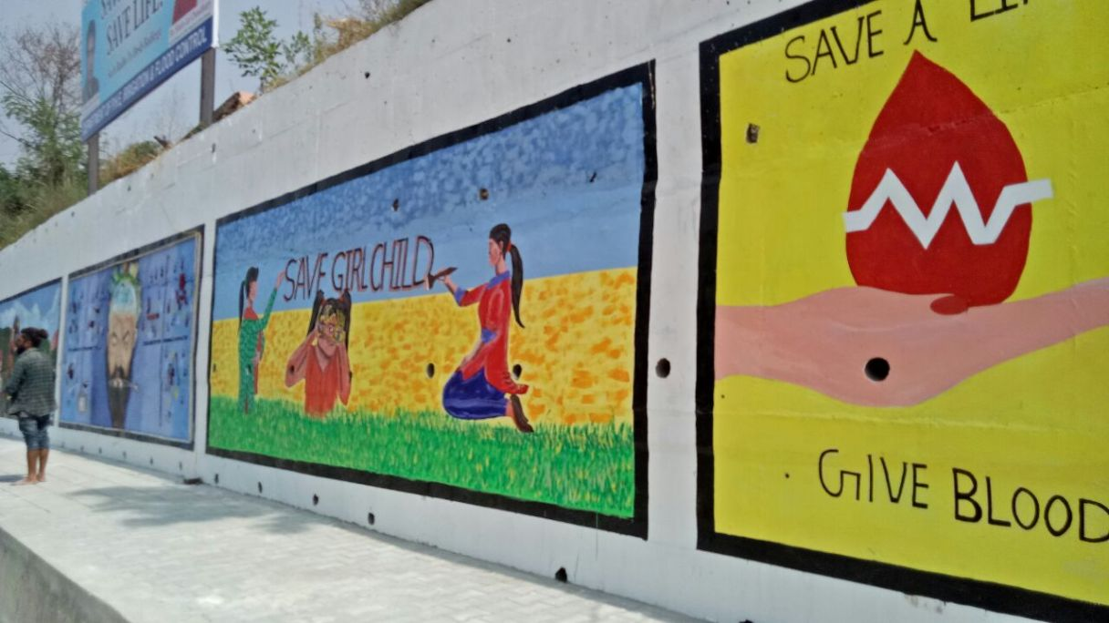 Wall Art in Jammu city