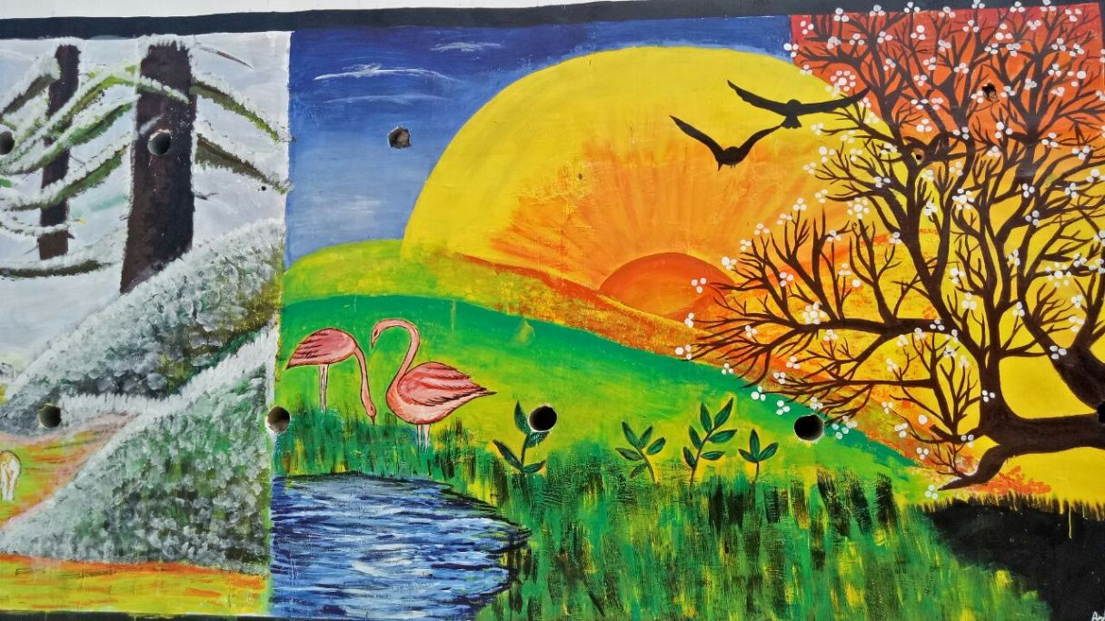 Save Earth Painting