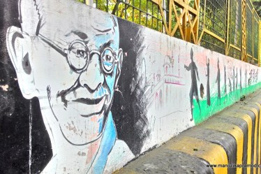 Moti Jheel, Wall art