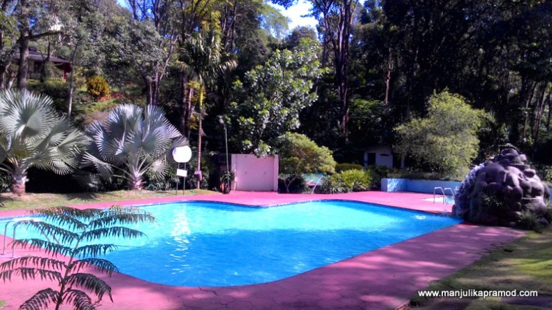 Swimming pool was very inviting.