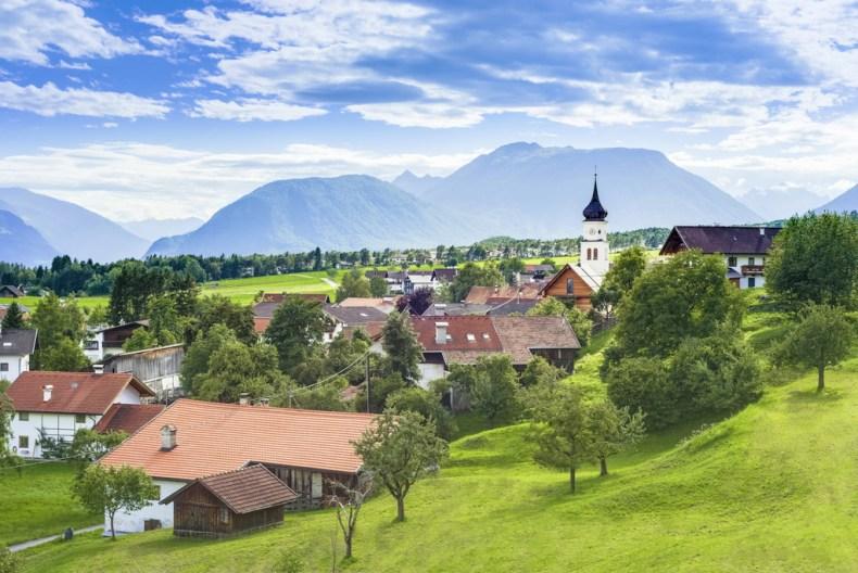 Tiger Zinda Hai shooting, Tirol, Austria