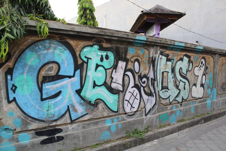 Street art in Indonesia, Bali